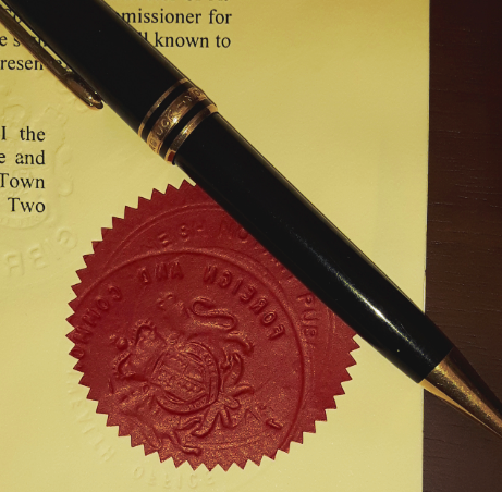 Legalisation-Notary-Stamp